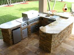 custom outdoor kitchens and built in bbq grill islands gas