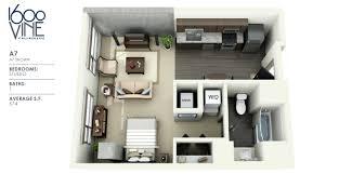 a7studio apartment floor plans furniture layout studio type plan