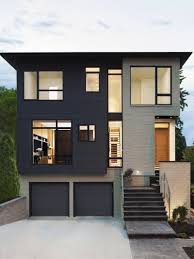 other attractive colors for minimalist house beside white and gray
