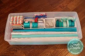christmas gift wrapping supplies 10 ridiculously easy decoration storage hacks
