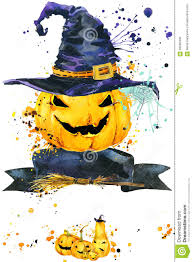 halloween spiderweds background halloween pumpkin watercolor illustration background for the