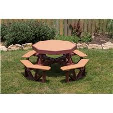 Poly Picnic Tables by Wood And Poly Picnic Table For The Kiddos Furniture Barn Usa