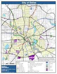 Dallas Map by Maps City Of Dallas Office Of Economic Development