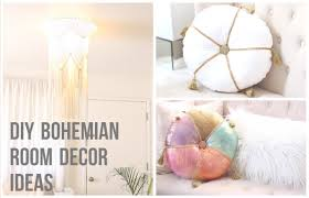 Boho Home Decor by Diy Bohemian Room Decor Ideas Youtube