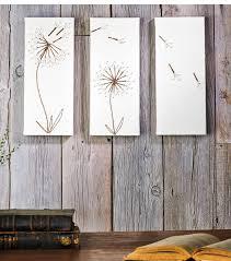 dandelion wood plaques wall 9 best gallery wall images on dandelions dandelion