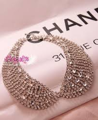 aliexpress collar necklace images Order is 15 mix order rhinestone false collar necklace nbsp jpg