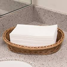 Disposable Guest Hand Towels For Bathroom Amazon Com Disposable White Guest Napkins Towel Cloth Like