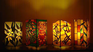 tropical lights for tropical nights glass by dk nagano