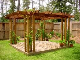 Backyard Arbor Arbor Rl Fence U0026 Decks