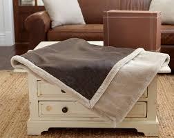 Faux Fur Throw Rugs Vintage Throw U2014 Kanata Blanket Co U2014 Faux Vintage Leather And Faux Fur