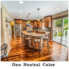 brown opposite color picking out paint colors for an open concept room