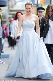 hilary duff wedding dress hilary duff younger in a strapless gown daily mail