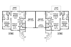 single story duplex floor plans modern house plans split level duplex plan small country with
