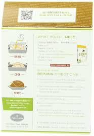 and flavor turkey brine flavor turkey herb brining mix 20 8