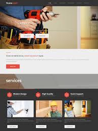 home repair html template home renovation website templates