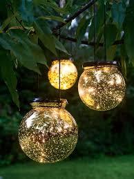 battery operated globe lights led fairy dust ball mercury glass
