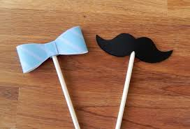 bow tie themed baby shower cupcake toppers bow ties and mustaches baby shower or