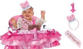 baby girl birthday girl 1st birthday party supplies happi woodland party city
