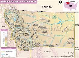 bitterroot mountains map montana mountain ranges map usa maps mountain