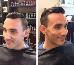receding hair slicked back 50 classy haircuts and hairstyles for balding men