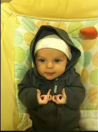 Mob Baby Meme - mob baby sends his regards funny
