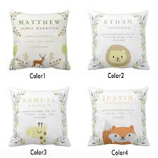 Customized Cushion Covers Customized Baby Gift Promotion Shop For Promotional Customized