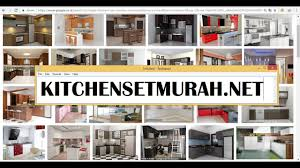 model kitchen set modern model kitchen set modern minimalis kitchensetmurah net youtube