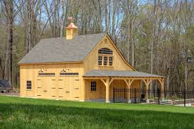 Gambrel Pole Barns Carriage Barn Post And Beam 2 Story Barn The Barn Yard U0026 Great