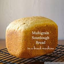 Pumpkin Spice Bread Machine Farm Fresh Feasts Multigrain Sourdough Bread In A Bread Machine
