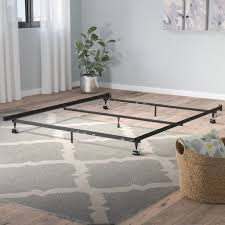symple stuff heavy duty 7 leg adjustable metal bed frame with