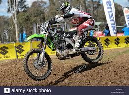 australian freestyle motocross riders 29 07 2012 sydney australia kawasaki rider billy mackenzie in