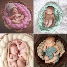infant photo props aliexpress buy 2017 wool twist rope photo props backdrop