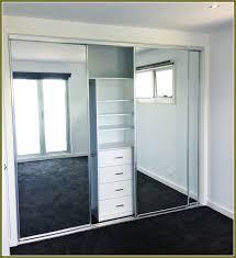 Sliding Mirror Closet Doors Mirrored Bypass Closet Doors Lights House