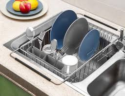 what size cabinet above sink these the sink dish drying racks eliminate the need for the sink side balancing act