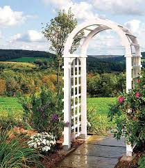 wedding arch blueprints how to build a garden arbor simple diy woodworking project