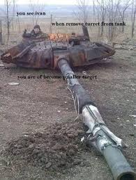 Tank Meme - when remove turret from tank you see ivan know your meme