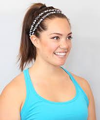 headbands that don t slip best women s athletic workout headbands