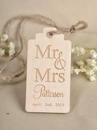 wedding gift tags custom listing 20 custom wooden heart thank you tag engraved