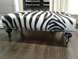 Animal Print Storage Ottoman Alluring Animal Print Storage Ottoman With Furniture Safavieh