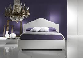 bedroom white modern bed designs in upholstery and curved iron
