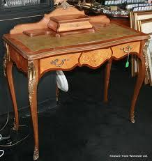 french style writing desk elegant french style inlaid ladies writing desk