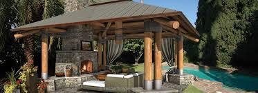 Backyard Gazebo Bungalow Outdoor Gazebo Structure Backyard Room Design