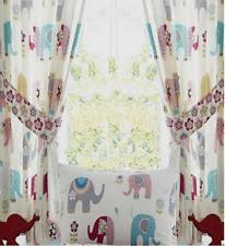 Elephant Curtains For Nursery Elephant Curtains Ebay