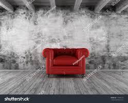 black white grunge interior red classic stock illustration