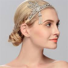 headband styler 2017 indian tribe style leaf headbands women tassels pearl hair