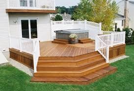 Wood Deck Design Ideas Deck Decorating Ideas Room Decorating - Backyard deck design ideas