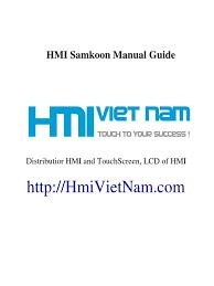 samkoon hmi user manual hmivietnam com automation