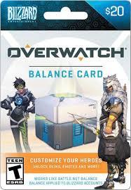 battlenet prepaid card blizzard 20 overwatch balance card multi overwatch blizzard