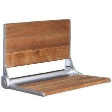 Teak Folding Shower Bench 18 X 15 Folding Shower Bench Wall Seat Chair Teak Wood Bath