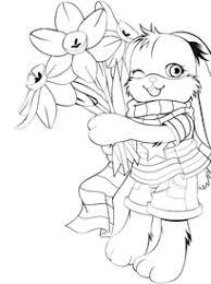 coloriage lapins à imprimer sur hugolescargot com
